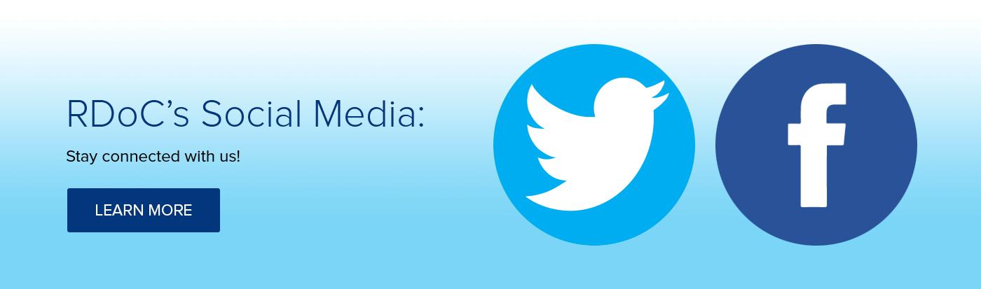 RDoC's Social Media: