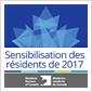 Sensibilisation des résidents de 2017