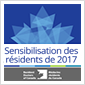 SENSIBILISATION DES RÉSIDENTS 2017