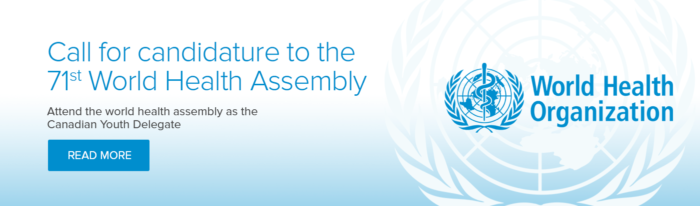 Call for candidature to the 71st World Health Assembly