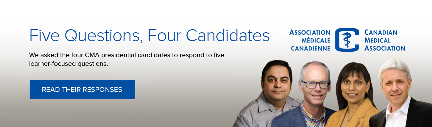 Five Questions, Four Candidates