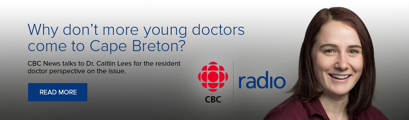 Why don't more young doctors come to Cape Breton?