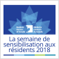 Semaine de sensiblisation aux résidents 2018
