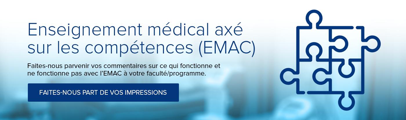 Enseignement médical axé sur les compétences (EMAC)