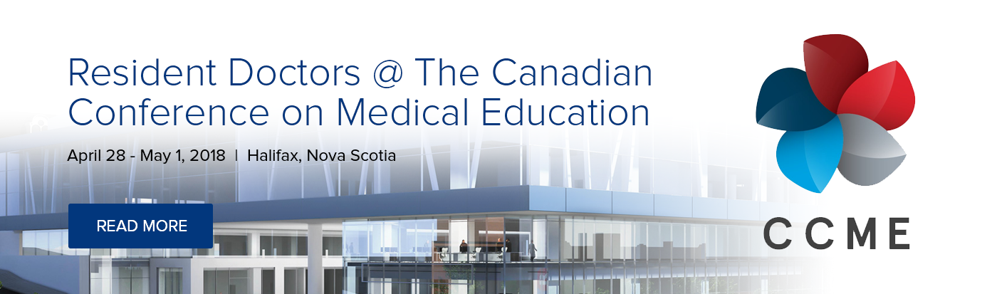 Resident Doctors @ The Canadian Conference on Medical Education