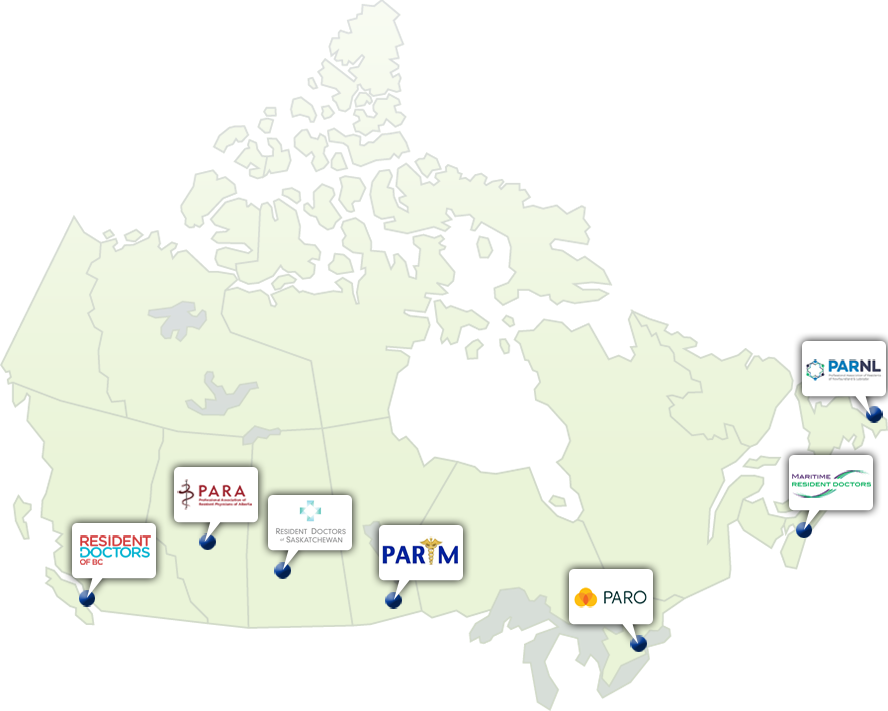 OUR PROVINCIAL PARTNERS | Resident Doctors of Canada on