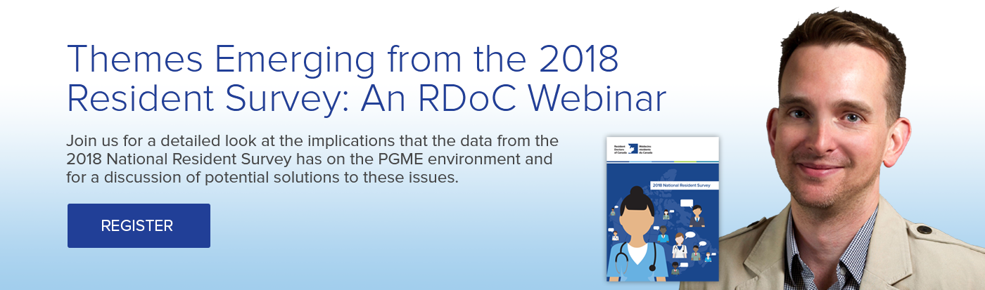 Themes Emerging from the 2018 Resident Survey: An RDoC Webinar