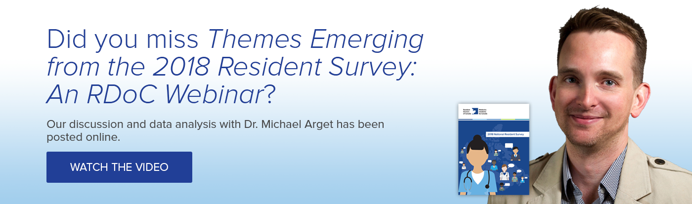 Missed our webinar: Themes Emerging from the 2018 Resident Survey