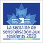 SEMAINE DE SENSIBILISATION DES RÉSIDENTS DE 2020