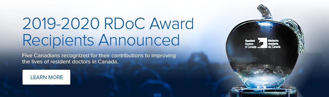 2019-2020 RDoC Awards Recipients