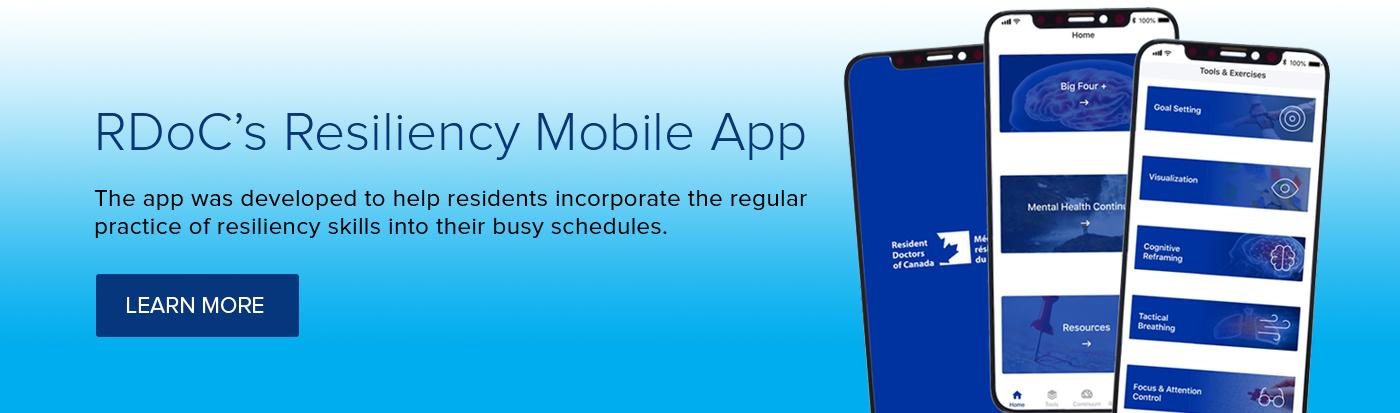 Resiliency Mobile App