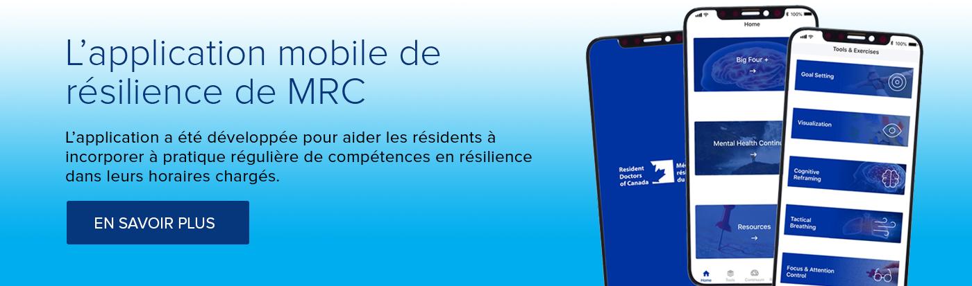 L'application mobile de résilience