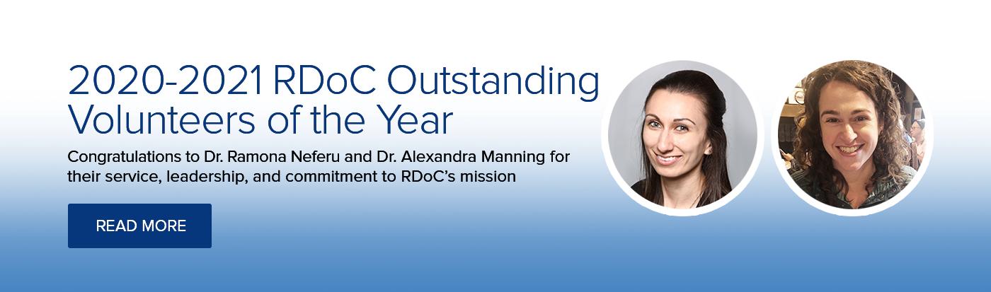 2020-2021 Outstanding Volunteers of the Year