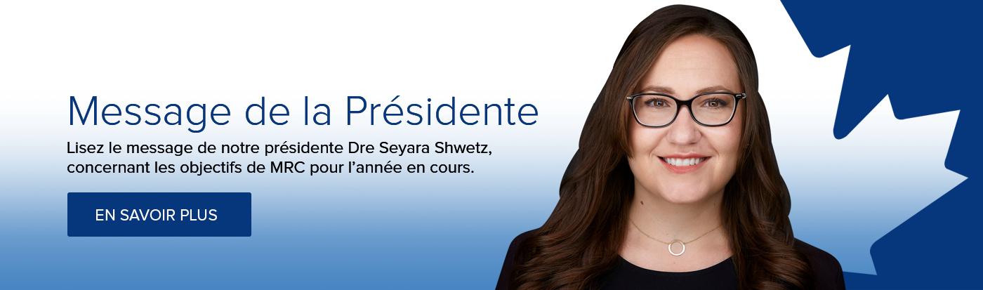 Message de la Présidente 2021/22